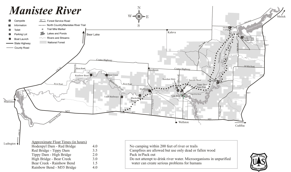 Manistee_River cdr - Manistee County Tourism - Manistee