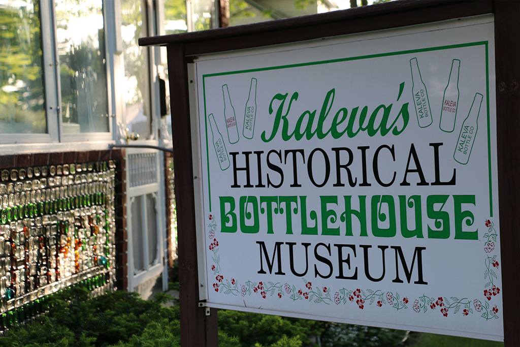 Kaleva Bottle House Museum