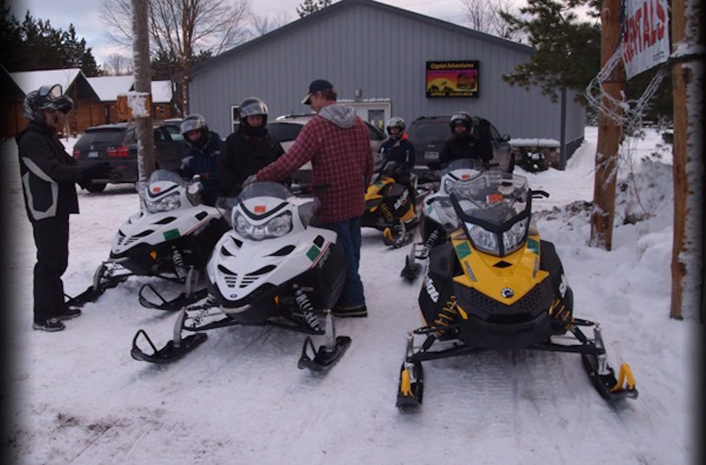 Cabin & Snowmobile Rental Packages at Crystal Adventures