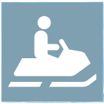 icon of snowmobile
