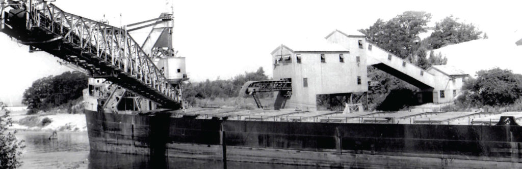 The Sand Industry in Manistee