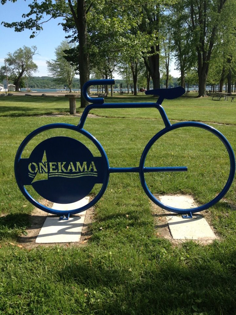Onekama Village Park - photo credit Suzanne Riley