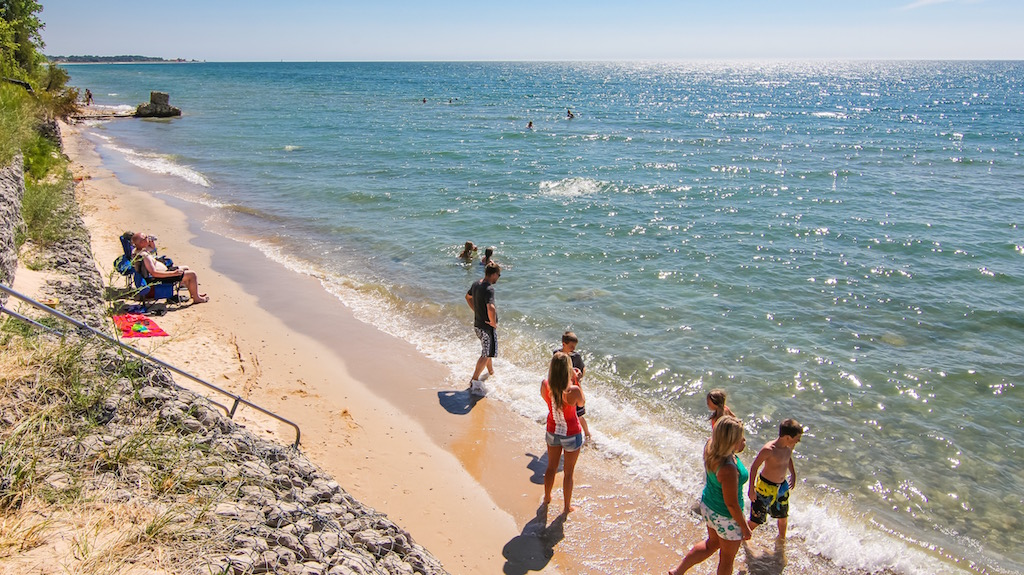 Orchard Beach State Park Beach