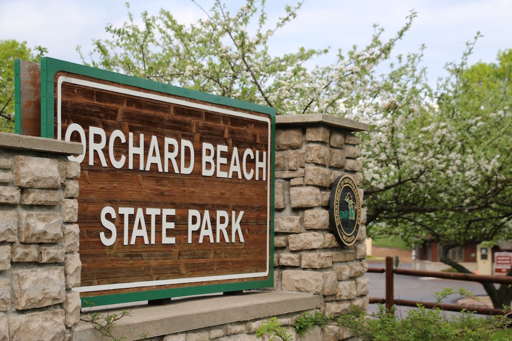 Orchard Beach State Park Entrance