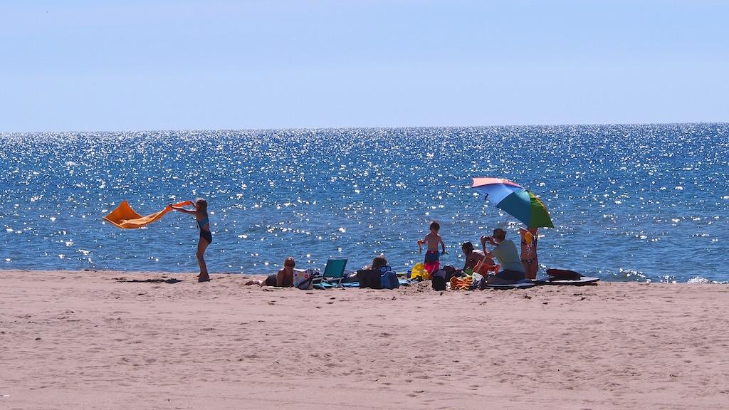 First Street Beach + Douglas Park