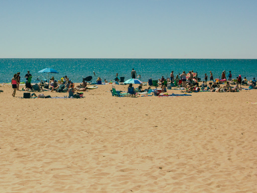 Manistee City Beaches