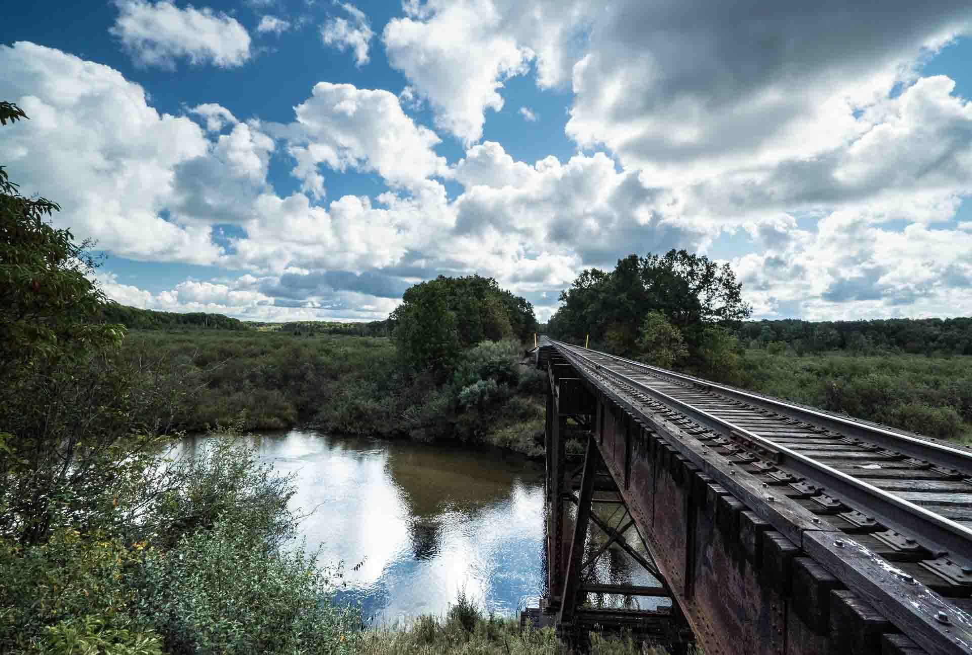 Stronach Rail Bridge