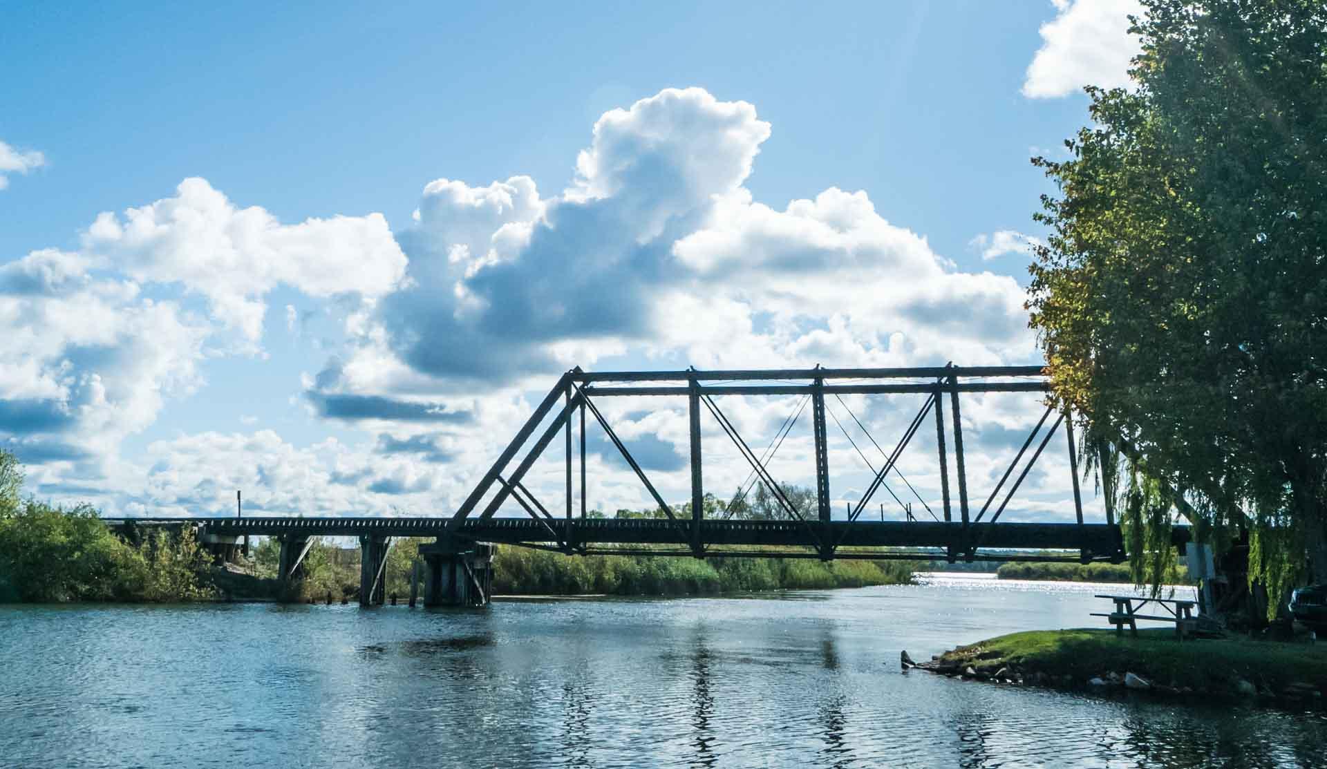 Manistee River Train Bridge