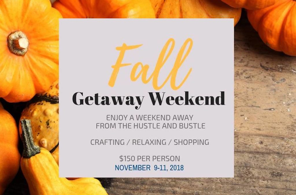 Fall Getaway Weekend-Inn at the Alpine